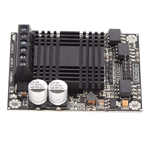 Driver Module, High Power 60A Motor Driver Module Double Channel DC Motor Driver Module DC Motor Driver Module Motor Control for Robot Competition