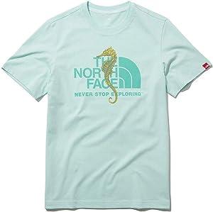 [ザノースフェイス] The NORTH FACE ホワイトラベル ショートスリーブティーチャレンジウォーター Tシャツ メンズ レディース 5カラー CHALLENGE WATER S/S R/TEE 5Colors [並行輸入品]