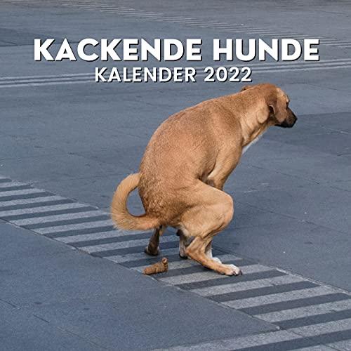 Kackende Hunde Kalender 2022: Lustige Geschenke für Freunde, Hundebesitzer, Weihnachten, Neujahr, Hundeliebhaber, Hundemama, Hundepapa