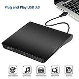Lettore Masterizzatore CD DVD Esterno Portatile Ultra Sottile USB 3.0 CD/DVD RW...