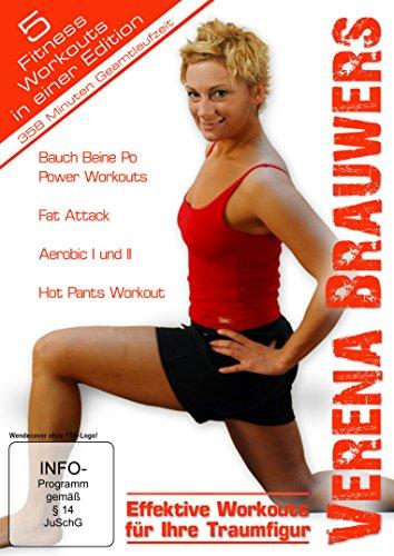 Verena Brauwers Edition - Effektive Workouts für Ihre Traumfigur (exklusive Vorab-Veröffentlichung bei Amazon.de) [5 DVDs]