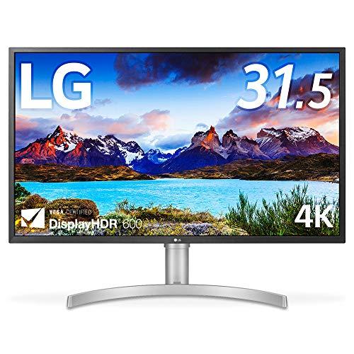 LG モニター ディスプレイ 32UL750-W 31.5インチ/4K/DisplayHDR600/VA非光沢/USB Type-C、DP、HDMI×2/スピーカー/FreeSync/高さ調節