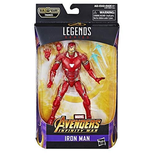 Hasbro Marvel Legends Series- Iron Man Action Figure da Collezione, 15 cm, Ispirata al Film, Multicolore, E3981CB0