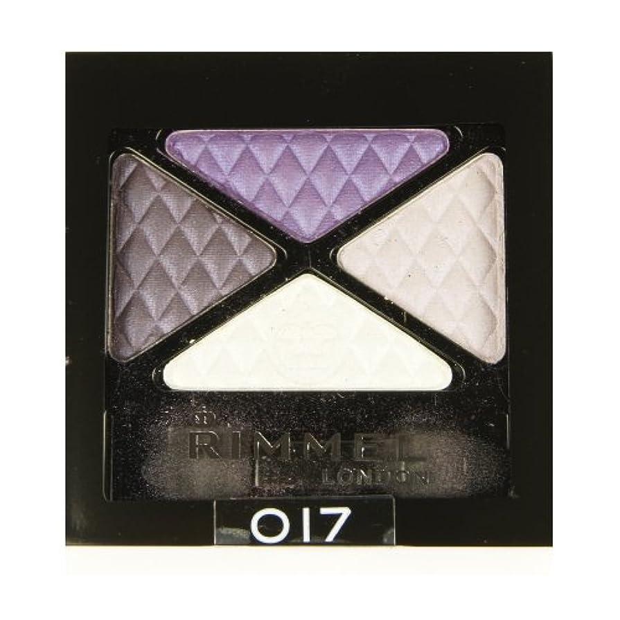 リークうめき眠っている(6 Pack) RIMMEL LONDON Glam Eye Shadow Quad - Dark Signature (並行輸入品)