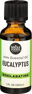 Whole Foods Market, 100% Essential Oil Eucalyptus, 1 oz