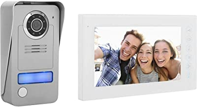 Smartwares DIC-22412 Videoportero con Panel táctil Plano, tecnología de 2 Cables, 230 V, Plata
