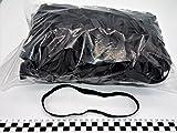 Progom - Gomas Elasticas - 200(Ø127) mm x 10mm - negro - bolsa de 1kg