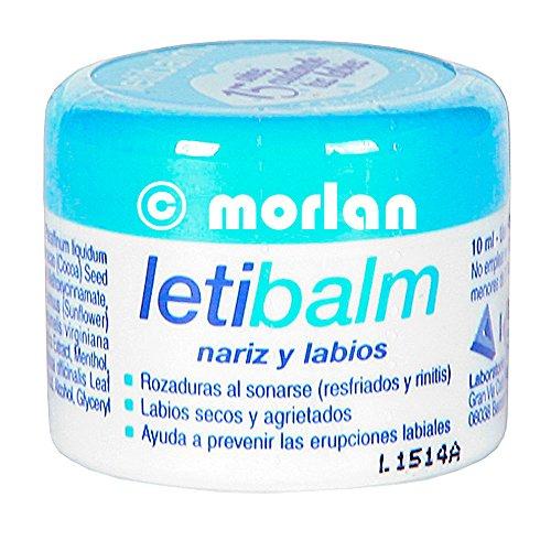 LETIBALM nez et les lèvres Pediatr JAR 10