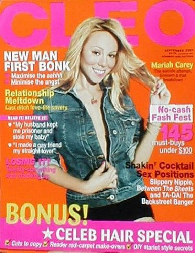 Adam Hersh Posters Mariah Carey (Cleo Cover, Original) Music Poster Print - 17' X 22'