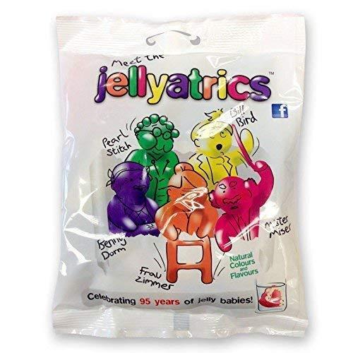Jellyatrics Jelly Babies Neuheit 50, 60, 70. Geburtstag lustiges Geschenk (Jellyatrics Jelly Baby Sweets, 1)