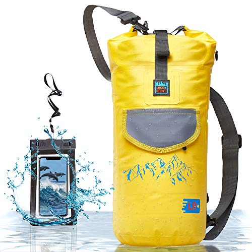 Waterproof Dry Bag for Camera - Submersible Backpack with Double Fixing Lock and Smart Storage -...
