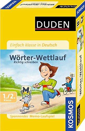 Mitbringspiel - Einfach klasse in Deutsch: Wörter-Wettlauf: Richtig schreiben. Spannendes Memo-Laufspiel 1./2. Klasse