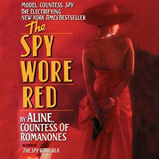 The Spy Wore Red audiobook cover art