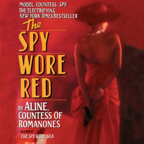 The Spy Wore Red copertina