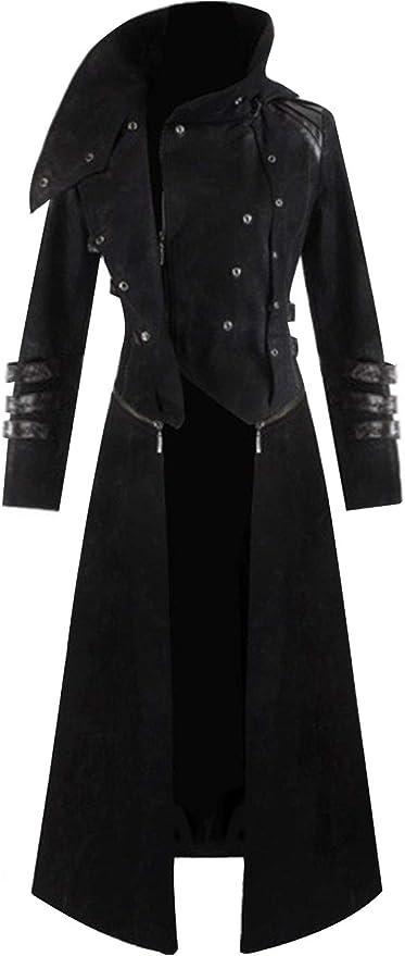 Men's Steampunk Jackets, Coats & Suits Mens Steampunk Victorian Coat Tailcoat Jacket Halloween Long Gothic Vintage Costume  AT vintagedancer.com