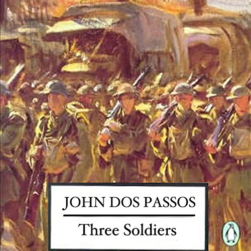 Three Soldiers  audiobook cover art