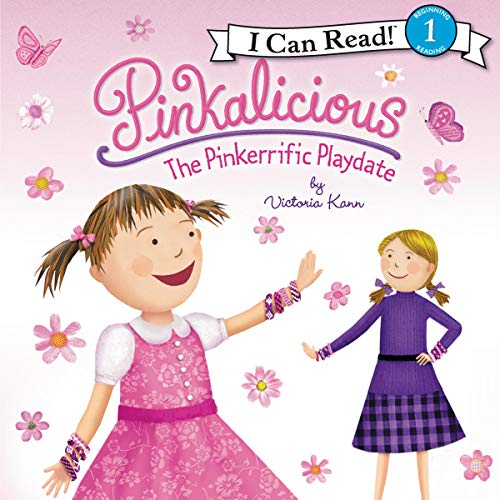 Pinkalicious: The Pinkerrific Playdate Audiobook By Victoria Kann cover art