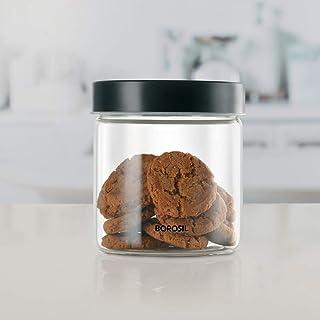 Borosil Endura Glass Jar for Kitchen Storage, 750 ml