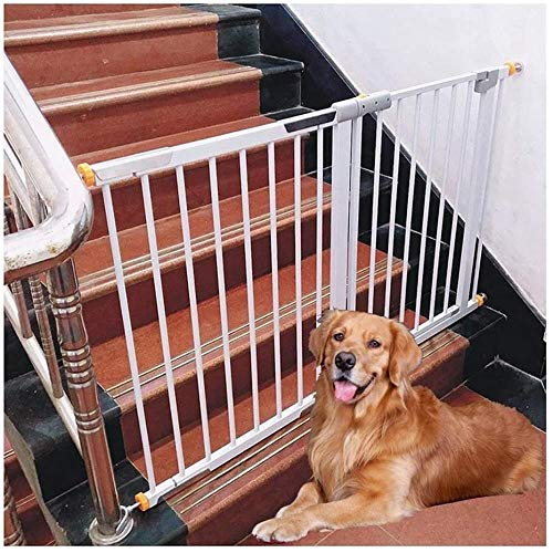 YYF Durable Safety Door Straight Pole Fence Pet Dog Fence Isolation Baby Stairs Fence Convenience (Size : 68-75cm)