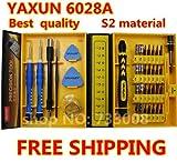 Mejor Calidad Yaxun multiusos 38en 1destornillador de precisión Kit, iPhone 4S/5/6s/6s Plus SamsungOpening reparación teléfono herramientas Set