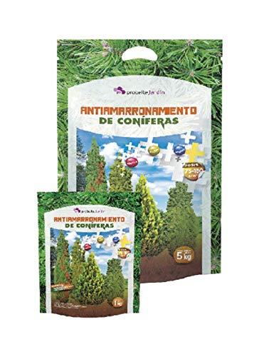 Probelte Jardín Antiamarronamiento coníferas 5 Kg - Sulfato de Magnesio con Hierro