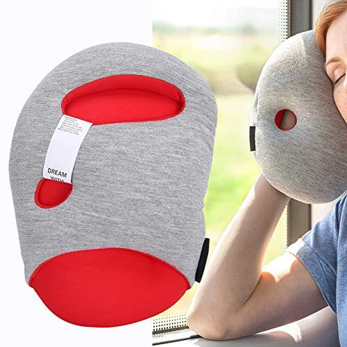 Mini almohada de viaje, reposacabezas para el cuello, accesorio de viaje, para la oficina en avión