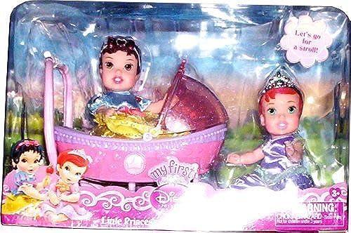 Disney Princess My First Little Princess Twinsies Stroller Set  Ariel and Snow Weiß by Disney Princess