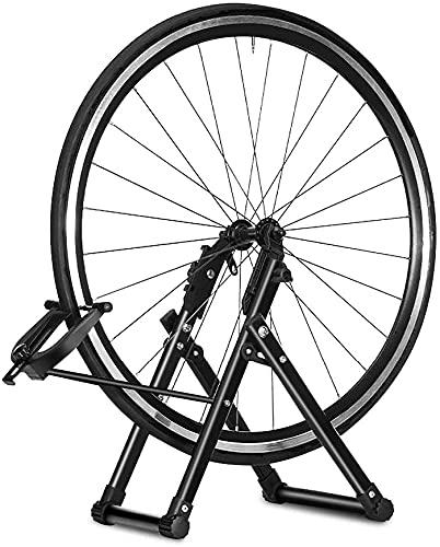 AYNEFY Cavalletto Bici Manutenzione, Supporto Manutenzione Stand per Ruota Dentata Parti Accessorie in Lega di Alluminio per 16-29 Pollici Bicicletta