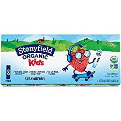 Stonyfield Organic Kids Strawberry Lowfat Yogurt 8-2 oz. Tubes