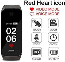 Bracelet Voice Recorder Spy Camera - Mini DV 1080P Wristband Watch with Smart Sport Watch Outdoor/Training/Teaching@Laing -H
