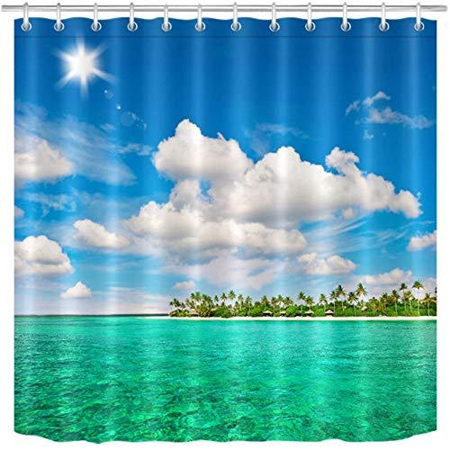 cortinas ducha playa
