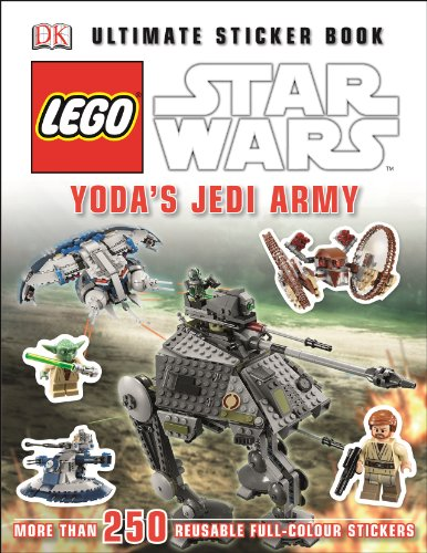 LEGO® Star Wars™ Yoda's Jedi Army Ultimate Sticker Book (Ultimate Stickers)