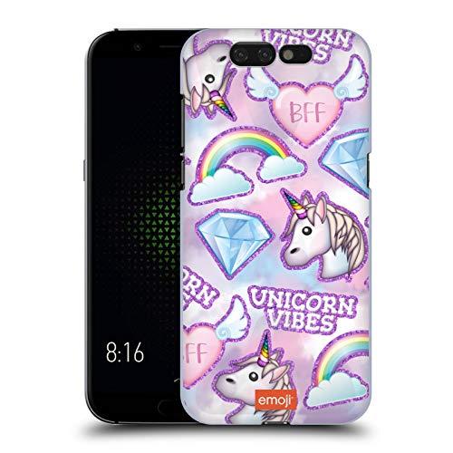 Head Hülle Designs Offizielle Emoji® Unicorn BFF Funkel Und Pastelle Harte Rueckseiten Handyhülle Hülle Huelle kompatibel mit Xiaomi Black Shark