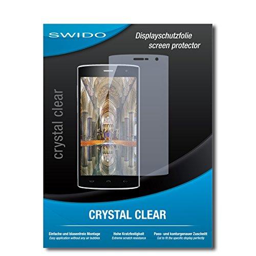 2 x SWIDO® Protector de pantalla Homtom HT7 Protectores de pantalla de película