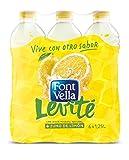Font Vella Levité Agua Mineral con Zumo de Limón - Paquete de 6 x 1250 ml - Total 7200 ml