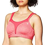 Champion Women's Sport Comfort Full-support Sport Bra, pop art pink heather/pop art pink, 42DDD
