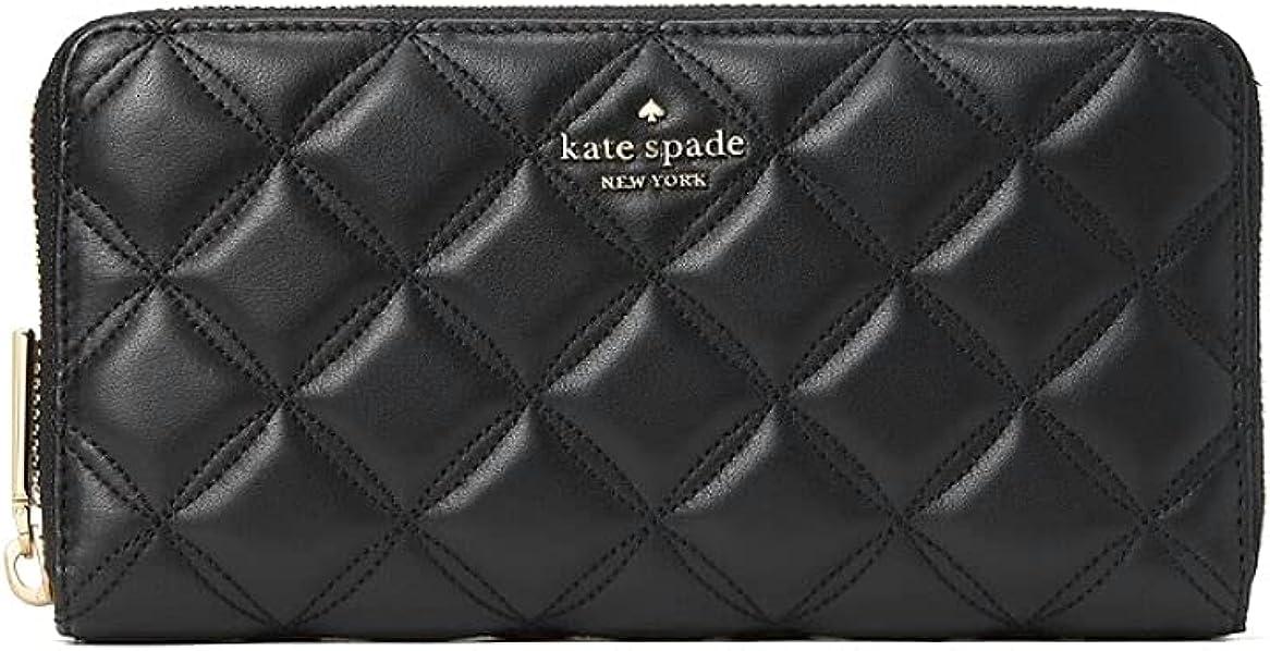 Kate Spade New York natalia large continental wallet black