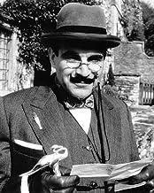 David Suchet Agatha Christie: Poirot In Hat Classic TV Detective 8x10 Promotional Photo