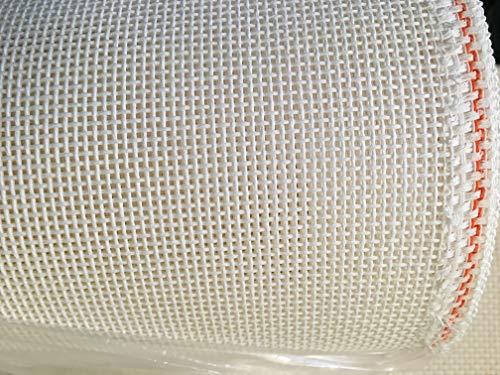 Mono Deluxe blank needlepoint canvas 10 mesh 1 yard Zweigart
