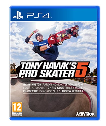 Tony Hawks Pro Skater 5 PS4 UK multi
