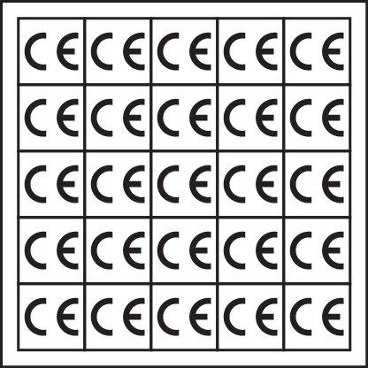 Inspection Arrows en vinyle Inscription Calibrated 3,18 mm x 4.83 mm Etiquettes de Prix Par Paquet de 5760 N /° 7824405 roulant op. CTL56
