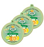 Citrus Magic Solid Air Freshener Fresh Citrus, Pack of 3, 8-Ounces...