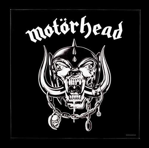 Motörhead Hochglanz-Bild mit dem Motiv Snaggletooth | Heavy-Metal Wandbild, B32 x H32 x T1,5 cm