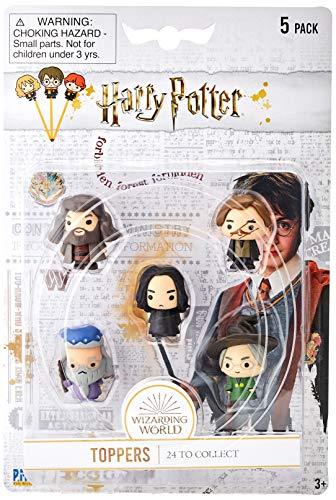 Bizak- Harry Potter Topper Confezione da 5, Multicolore, 64112040