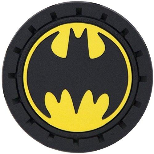 Plasticolor 001960R01 Batman Auto Car Truck SUV Cup Holder Coaster 2-Pack