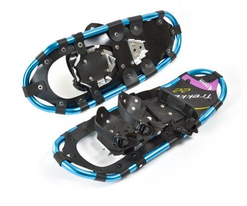 Chinook 80002 Trekker Snowshoes,Blue, 22