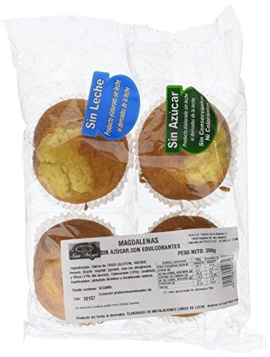 Magdalenas Sin Azúcar y Sin Lactosa