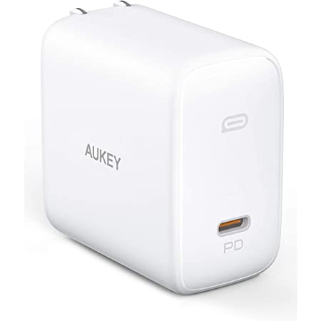 """[Upgraded] MacBook Pro Charger 100W, AUKEY Omnia USB C Charger with GaNFast Technology, PD Charger Power Delivery 3.0 Laptop Charger for MacBook Pro 16"""", iPhone 11 Pro Max, HP Spectre 15 and More"""