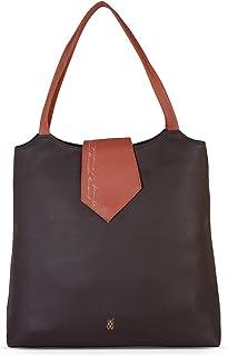 Baggit Autumn/Winter 2020 Faux Leather Women's Tote Handbag (Violet) (Kasky)