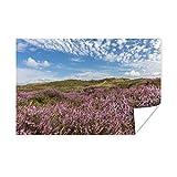 Poster Wattenmeer - Wonder Schönes Bild eines rosa